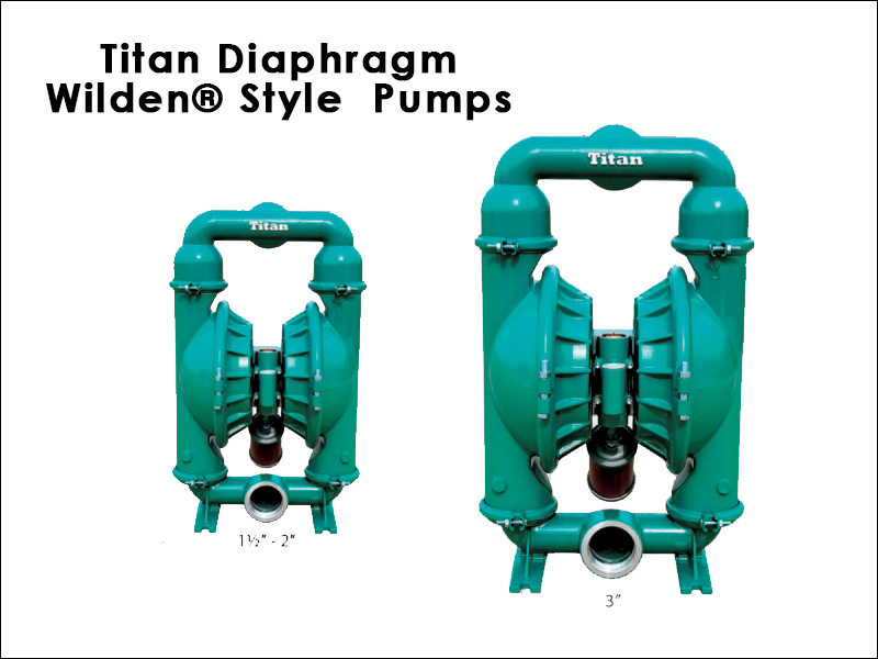 Titan Diaphragm Wilden® Style Pumps | Titan Manufacturing Inc